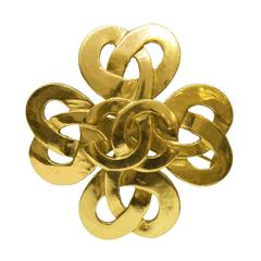 1997 Spring Chanel Celtic Braid Style Pin