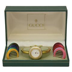 1970's Gucci Interchangeable Bezels Watch