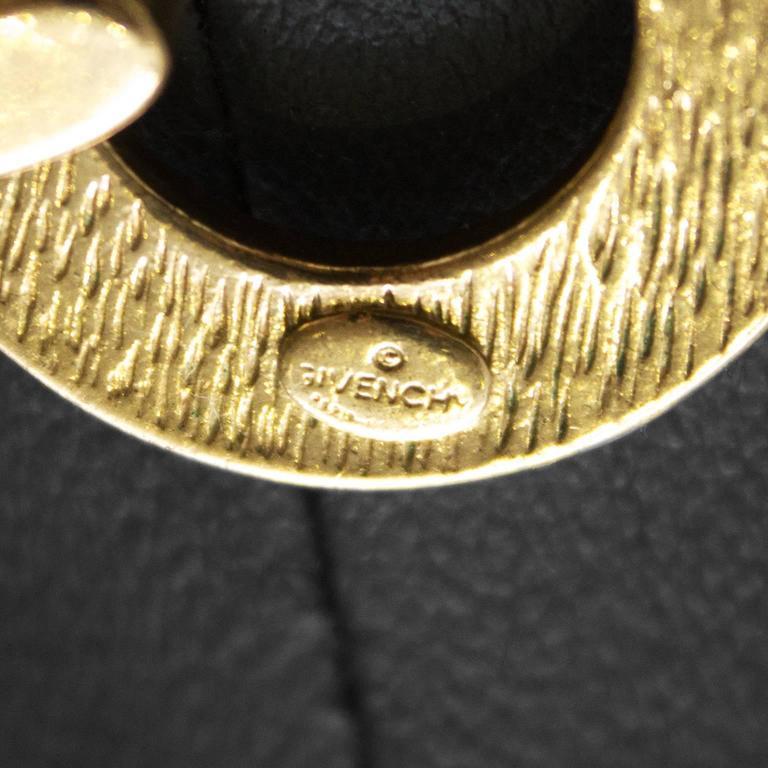 1980's Givenchy Gold Triple Strand Chain Choker 4