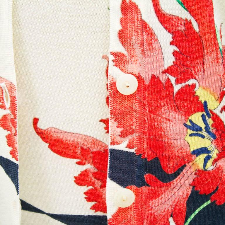 1980's Leonard Floral Pattern Sweater Set 6