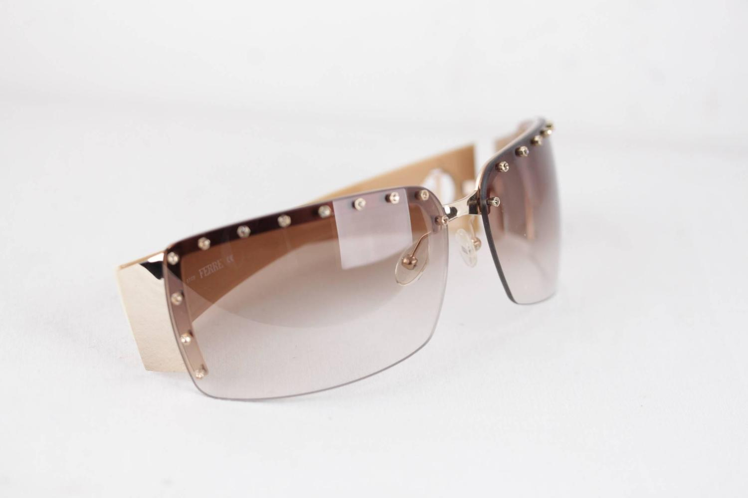 GIANFRANCO FERRE Rimless SUNGLASSES GF81301 71/14 Shades w ...