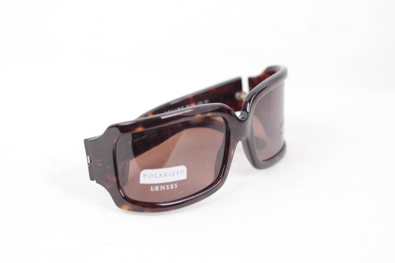 30ec247af6 CELINE PARIS brown tortoise SUNGLASSES SC 1561 col 722 EYEWEAR polarized  Lens at 1stdibs