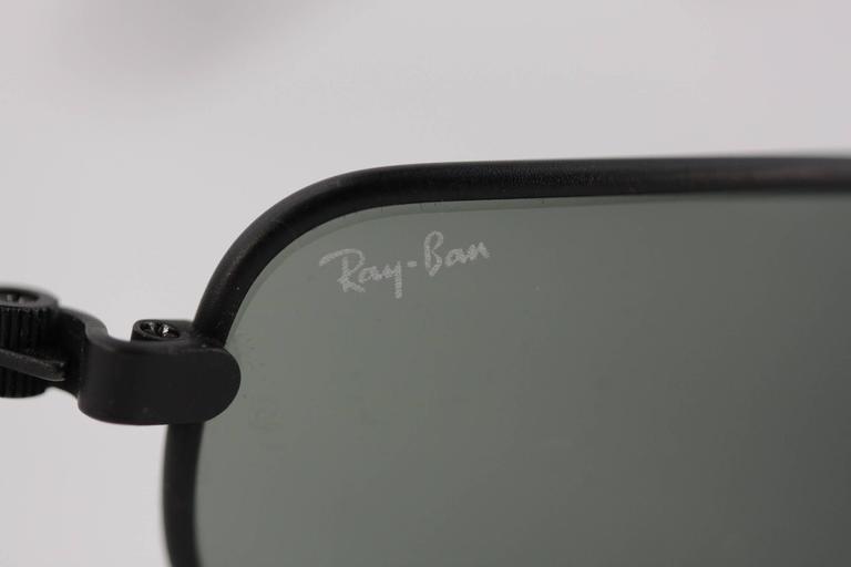 4428fb887f7 Ray-ban Standard Matte Textured Black Case Sunglasses