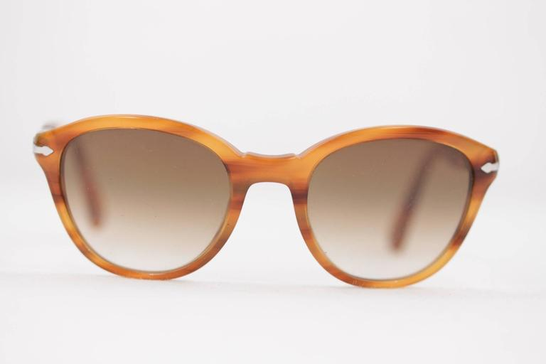 PERSOL Tan SUNGLASSES 3025 S Capri Edition EYEWEAR Eyeglasses SHADES ...