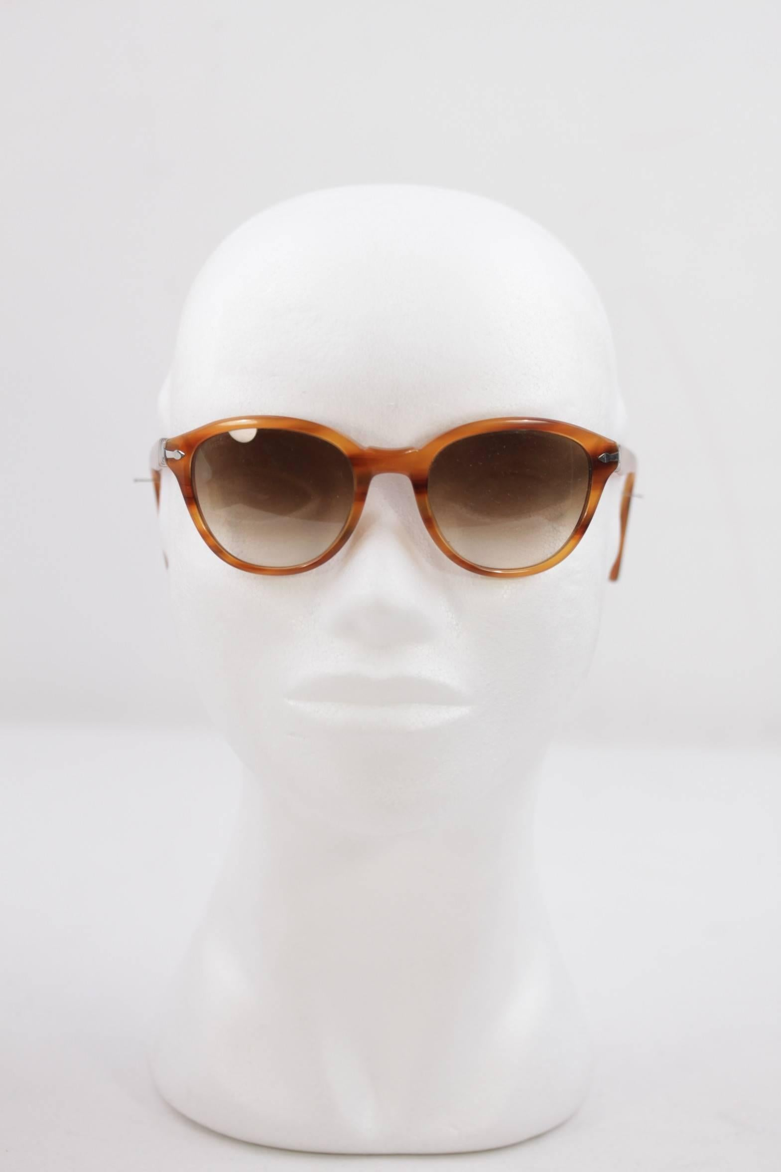61d50c9410c70 PERSOL Tan SUNGLASSES 3025 S Capri Edition EYEWEAR Eyeglasses SHADES For  Sale at 1stdibs