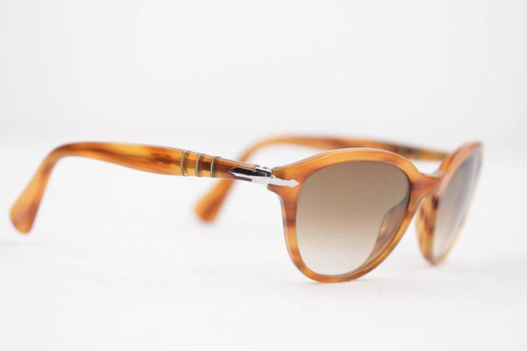 PERSOL Tan SUNGLASSES 3025 S Capri Edition EYEWEAR Eyeglasses SHADES 5