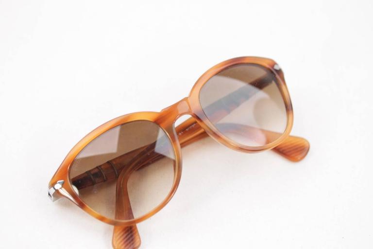 PERSOL Tan SUNGLASSES 3025 S Capri Edition EYEWEAR Eyeglasses SHADES 4