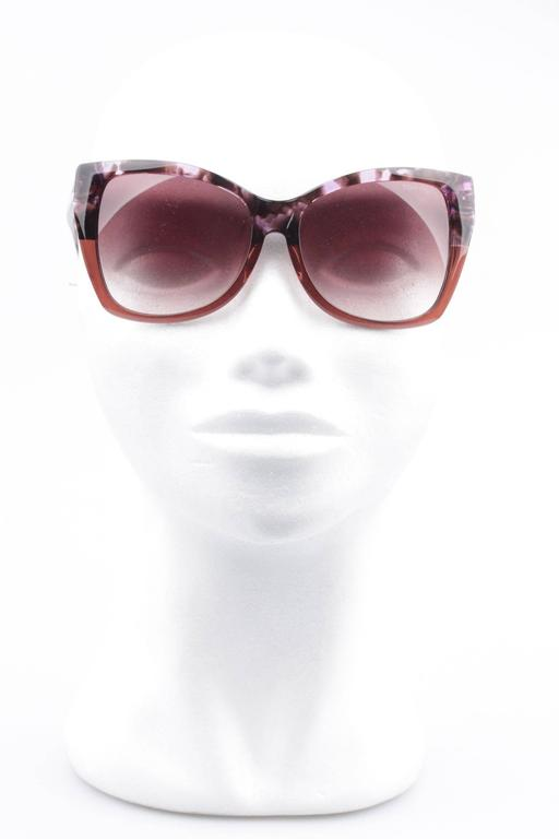 TOM FORD Eyewear CARLI TF 295 55Z 57/16 Oversized Butterfly SUNGLASSES Boxed 9
