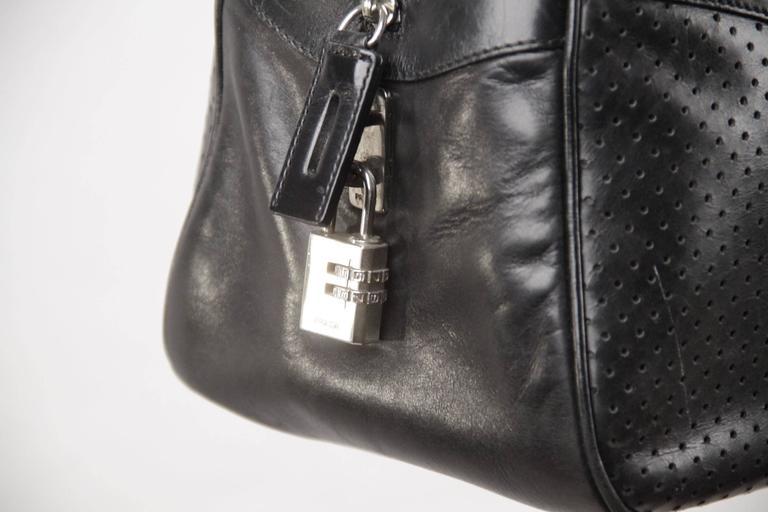 50fe4d34d7fd PRADA Black Leather BOWLING BAG Satchel BOWLER GM Purse HANDBAG For Sale 3