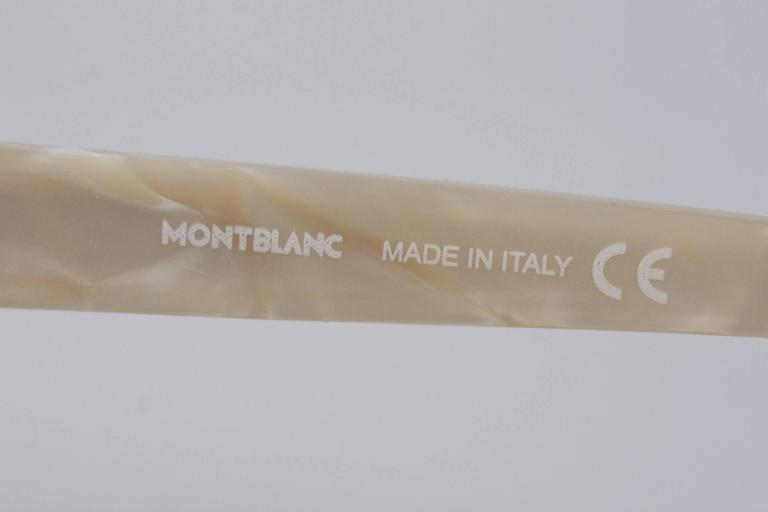 MONTBLANC Ivory MB 138S T58 SUNGLASSES 59/18 125 Gradient Lens EYEWEAR For Sale 3