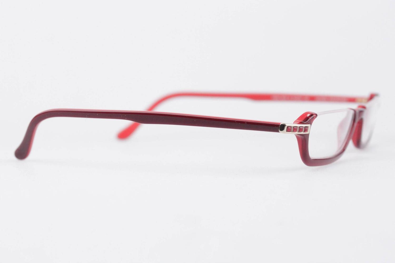 Eyeglass Frames With Swarovski Crystals : DANIEL SWAROVSKI Half Rim FRAME S141 20 6053 Spectacles ...