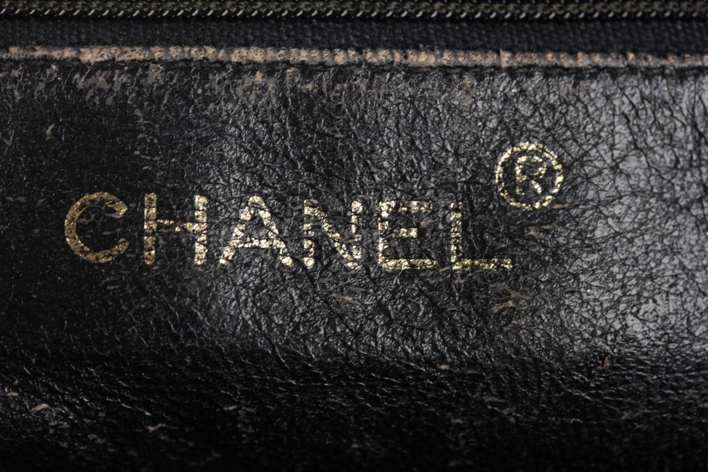 7aa0809a6b57 CHANEL Vintage Black QUILTED Leather CAMERA BAG Fold Detail CROSSBODY Tassel  For Sale at 1stdibs