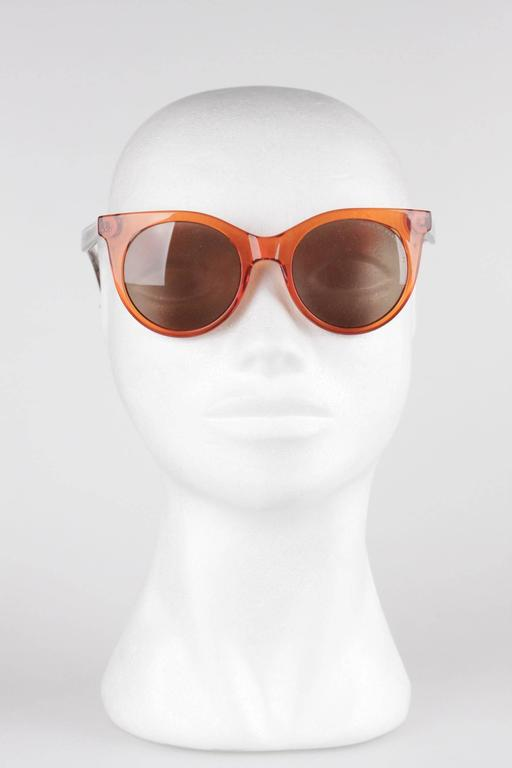 MARC by MARC JACOBS Eyewear MMJ 412/S 6HM UT Orange SUNGLASSES w/ CASE 5