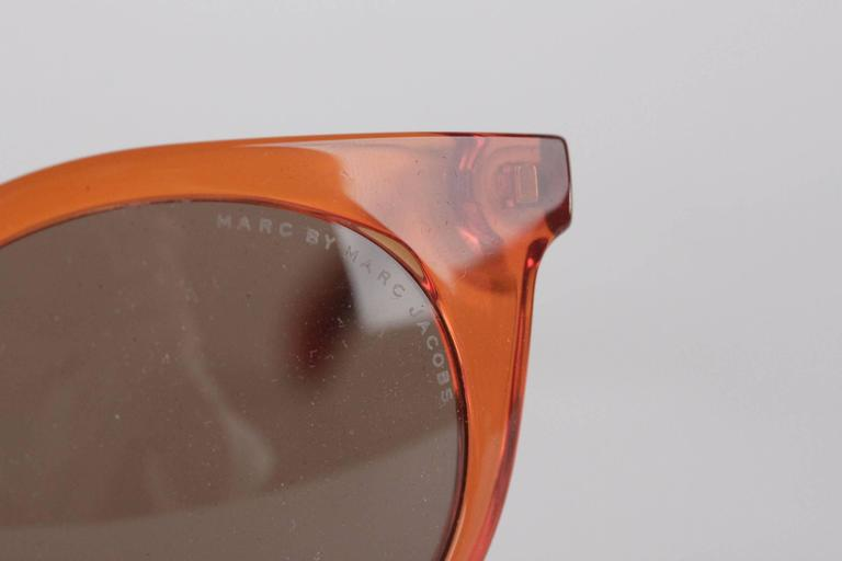 MARC by MARC JACOBS Eyewear MMJ 412/S 6HM UT Orange SUNGLASSES w/ CASE 4