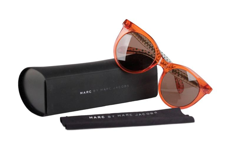 MARC by MARC JACOBS Eyewear MMJ 412/S 6HM UT Orange SUNGLASSES w/ CASE 3