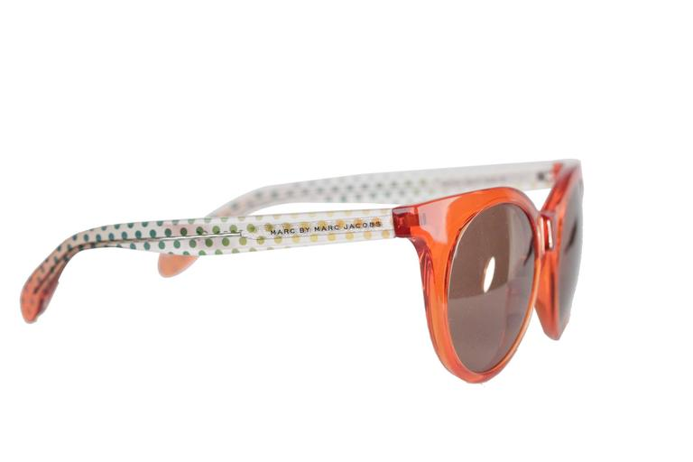 MARC by MARC JACOBS Eyewear MMJ 412/S 6HM UT Orange SUNGLASSES w/ CASE 2