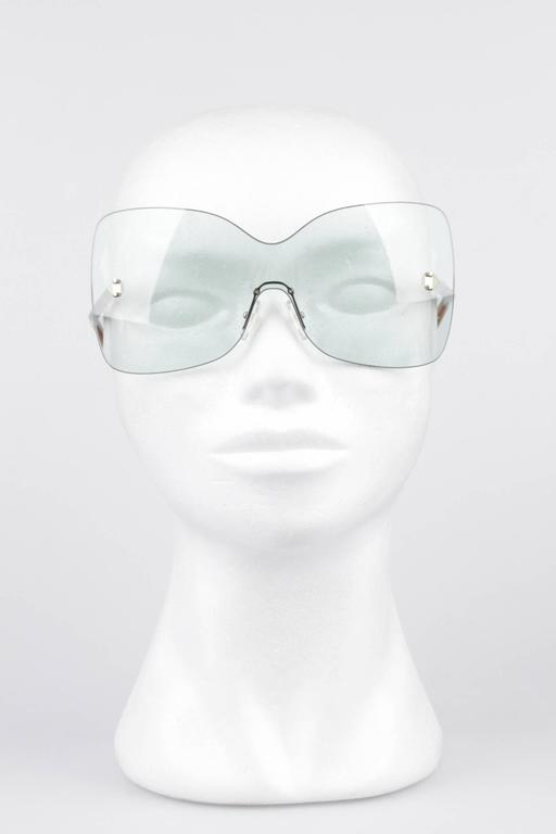 FENDI Oversized Rimless SUNGLASSES FS5273 467 Aqua S/S 2012 SHADES w/CASE 2