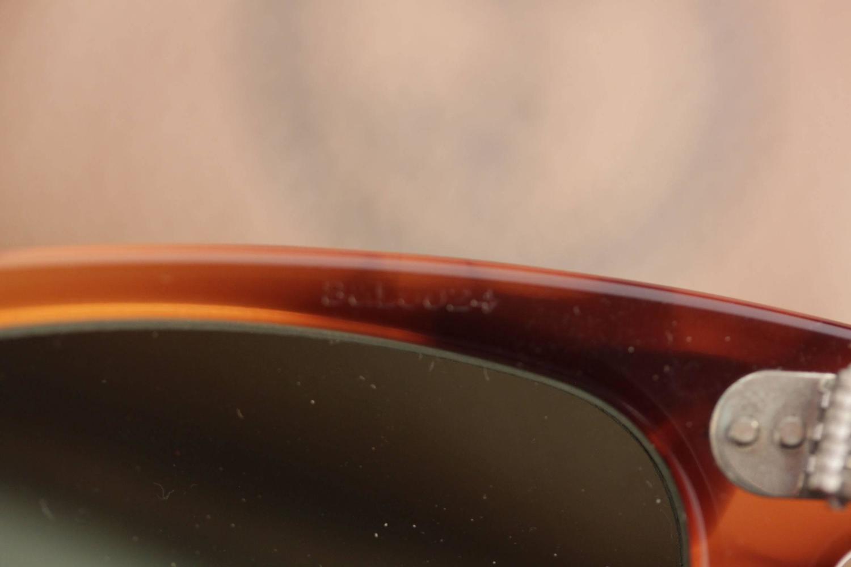 RAY-BAN B L BAUSCH and LOMB U.S.A. vintage WAYFARER brown 50 24 L2053  sunglasses 72f6dbe0f5