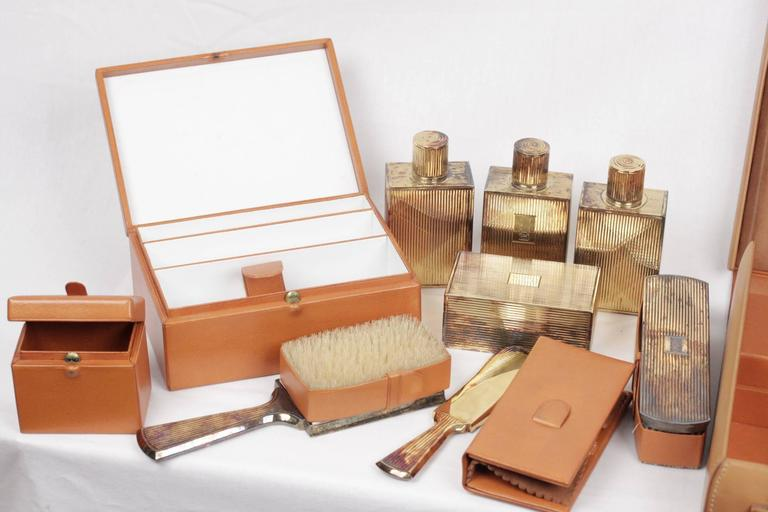 - HERMES Paris 50's Gentleman travel grooming set