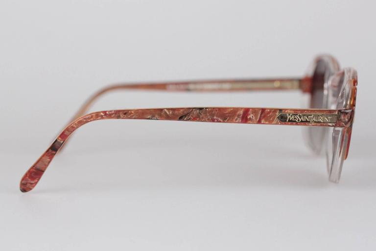 YVES SAINT LAURENT Vintage MINT SUNGLASSES mod SALAMINE 54/16 825 In New Never_worn Condition For Sale In Rome, Rome