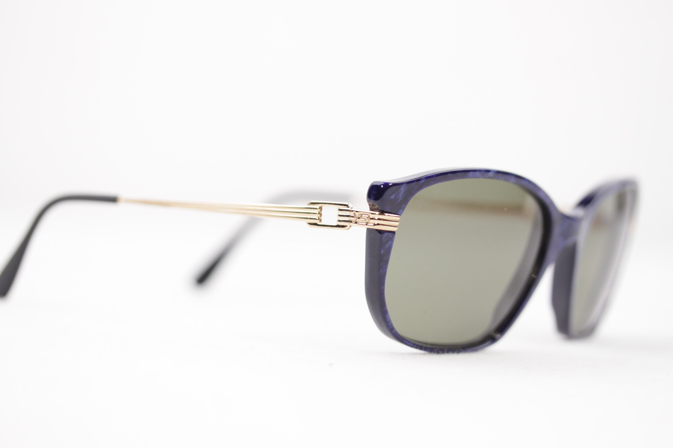 fda49484014f9 YVES SAINT LAURENT Vintage MINT womens SUNGLASSES TITHON 55 18 Eyewear For  Sale at 1stdibs