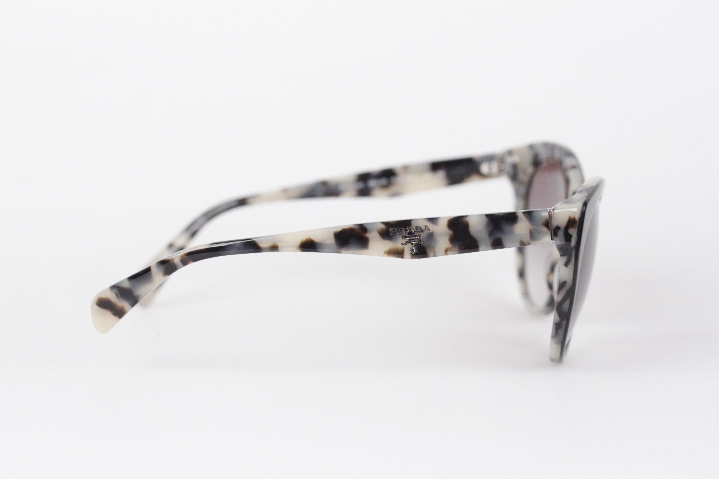 fe6674939183 PRADA Sunglasses SPR 230 56 20 140 2N ANIMALIER pattern w CASE and BOX at  1stdibs
