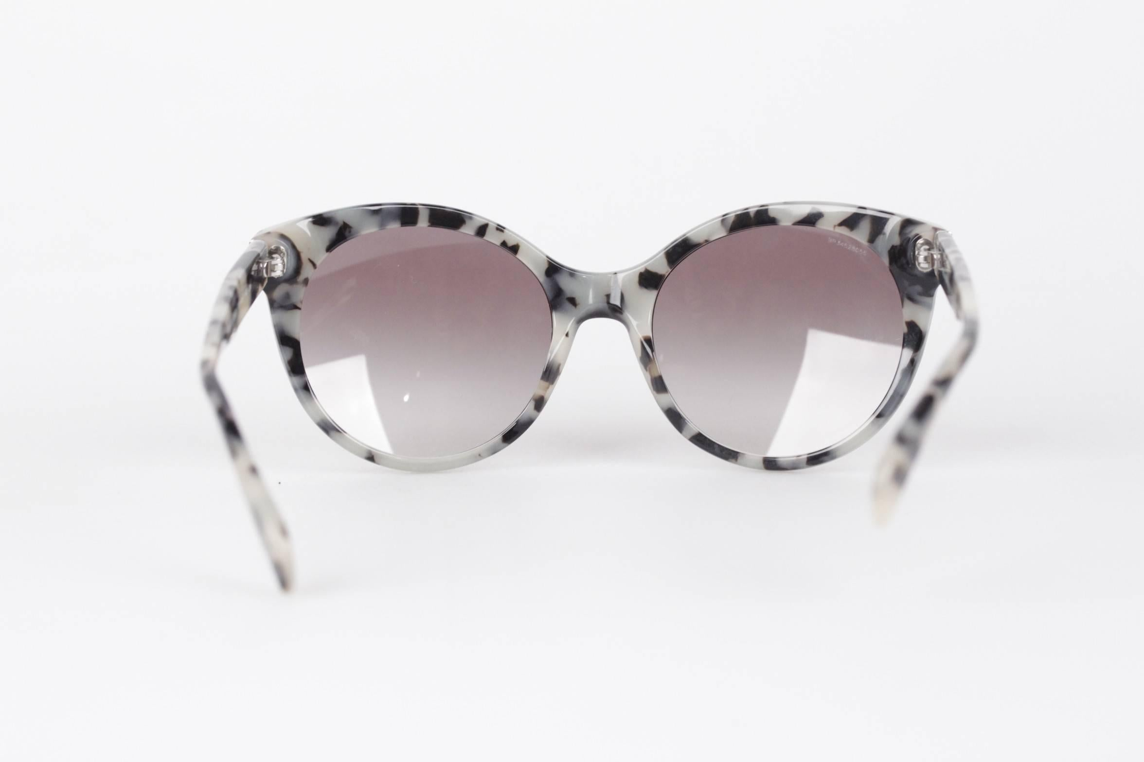 d69fea4f8b PRADA Sunglasses SPR 230 56 20 140 2N ANIMALIER pattern w CASE and BOX at  1stdibs