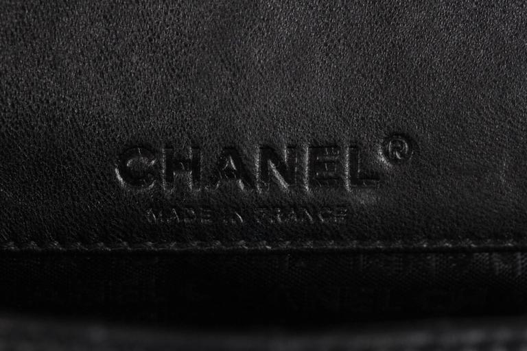 8882fe29985adc Chanel Black Square Quilted Leather Mini Flap Handbag Multi Chain Bag For  Sale 4