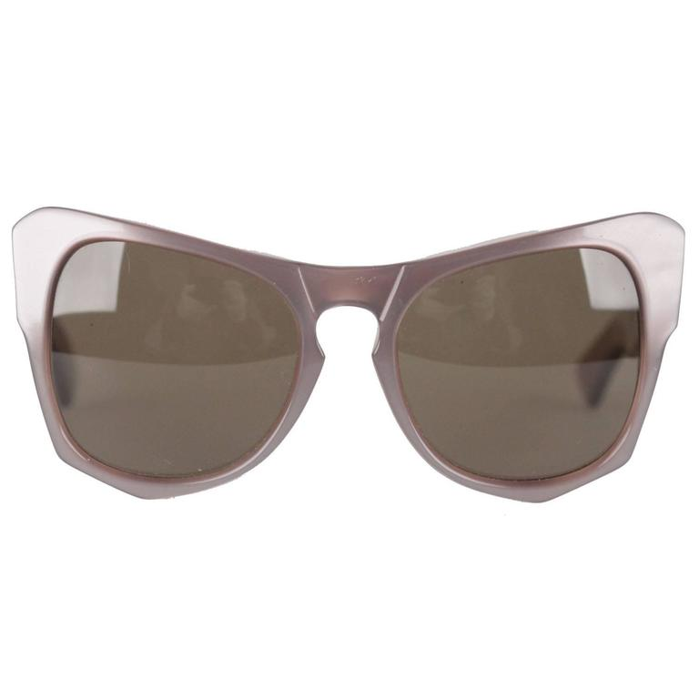 YVES SAINT LAURENT Rare MINT Diva Oversized Sunglasses mod. VANESSA