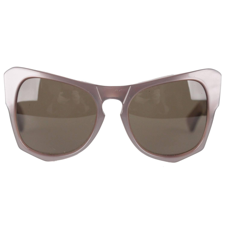 YVES SAINT LAURENT Rare MINT Diva Oversized Sunglasses mod. VANESSA