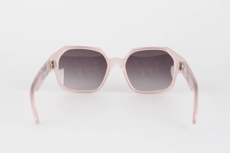 361aa11dd69 Women s YVES SAINT LAURENT Vintage MINT Rare PINK Sunglasses APATURA 48 18  For Sale