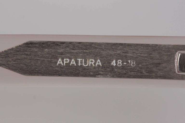 YVES SAINT LAURENT Vintage MINT Rare PINK Sunglasses APATURA 48/18 For Sale 1