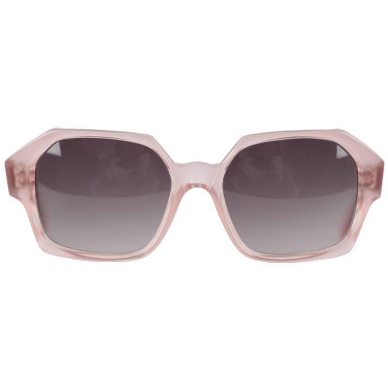 YVES SAINT LAURENT Vintage MINT Rare PINK Sunglasses APATURA 48/18 For Sale