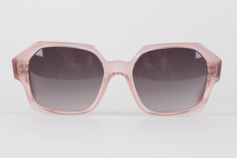 YVES SAINT LAURENT Vintage MINT Rare PINK Sunglasses APATURA 48/18 For Sale 3