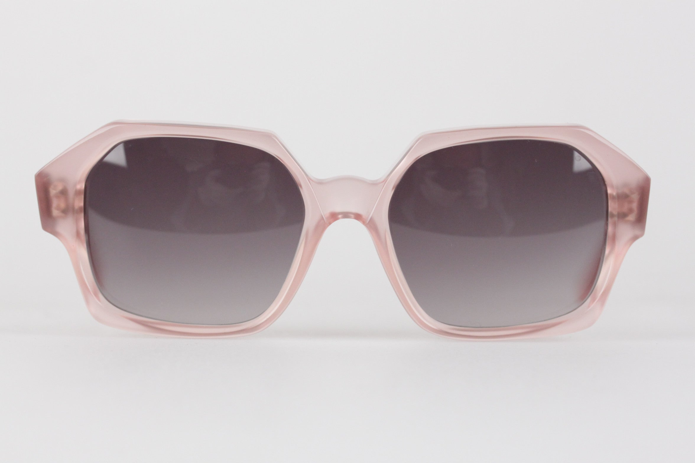 a0bdb28c40b YVES SAINT LAURENT Vintage MINT Rare PINK Sunglasses APATURA 48 18 For Sale  at 1stdibs