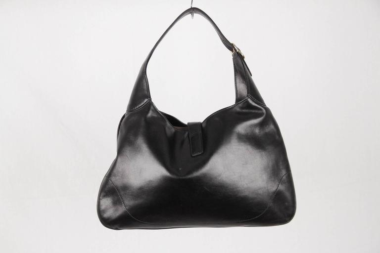 4a3666ee19c6 Vintage Gucci Jackie O Hobo Black Purse Handbag | Stanford Center ...
