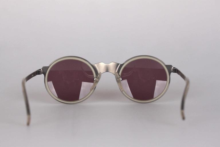 JEAN PAUL GAULTIER Rare Vintage 56-3272 Round SUNGLASSES 50mm Frame ...