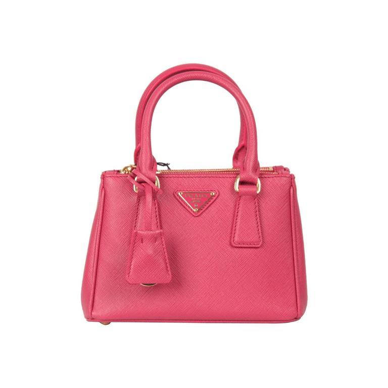 ba0de5b4d351a5 ... nextprev. prevnext 24be5 d3bd5; australia prada pink fuxia saffiano lux  leather mini tote satchel 1bh907 for sale d48f4 14de2