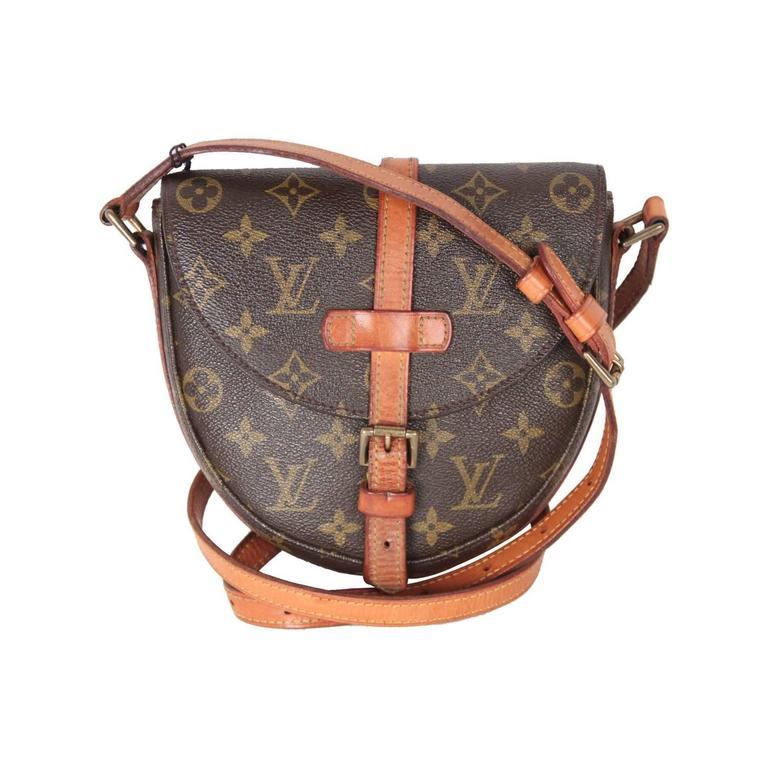 Louis Vuitton Vintage Monogram Canvas Chantilly Pm Messenger Bag For