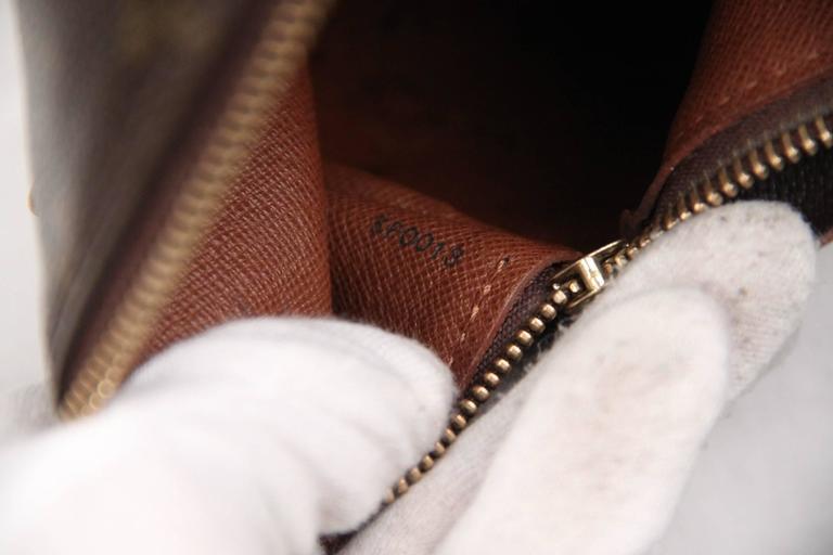 Louis Vuitton Brown Monogram Canvas Papillon 30 Handbag For Sale 4