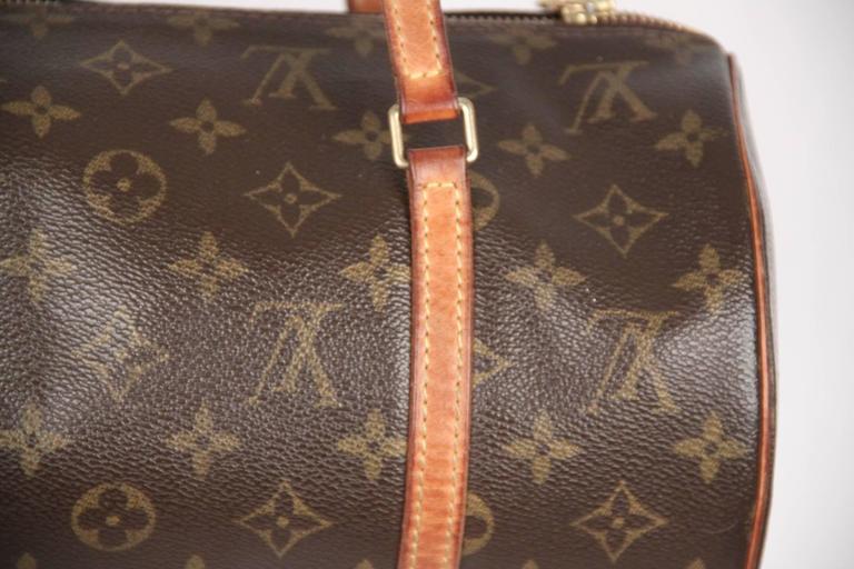 Louis Vuitton Brown Monogram Canvas Papillon 30 Handbag In Good Condition For Sale In Rome, IT