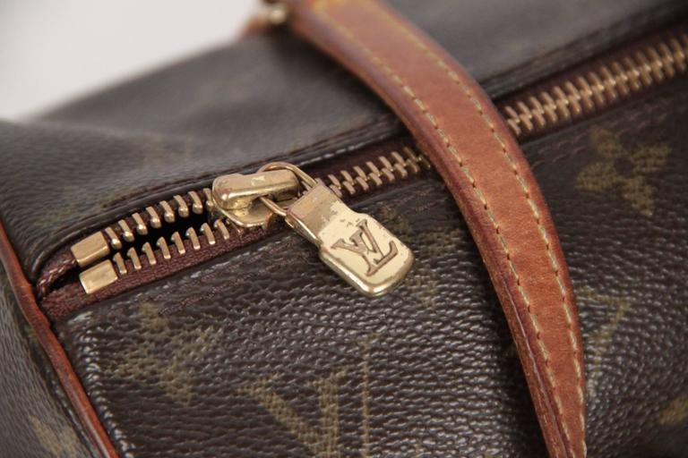 Louis Vuitton Brown Monogram Canvas Papillon 30 Handbag For Sale 2