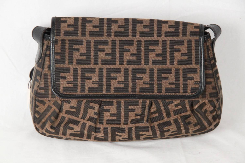 c107d00238 ... greece fendi monogram zucca canvas b bis bag shoulder bag for sale at  1stdibs e3273 059e3 ...