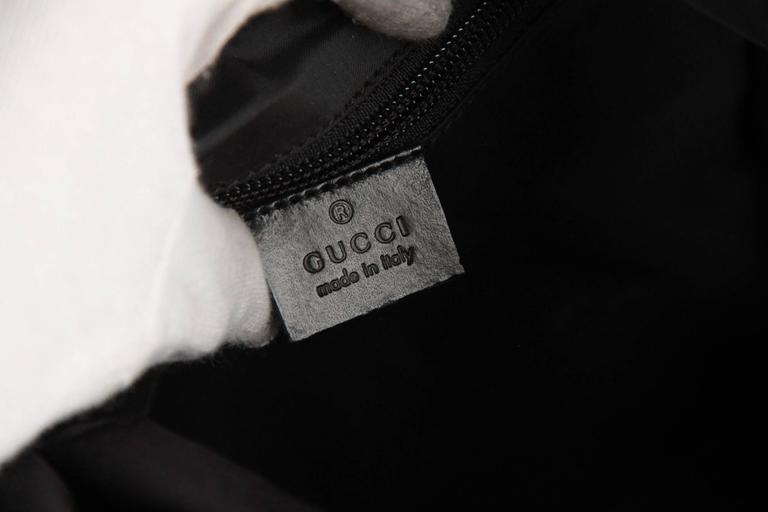 93e725b538cc GUCCI Black Canvas   Mesh BACKPACK BAG For Sale 3
