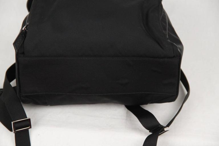 1beee11b33db GUCCI Black Canvas   Mesh BACKPACK BAG For Sale 2