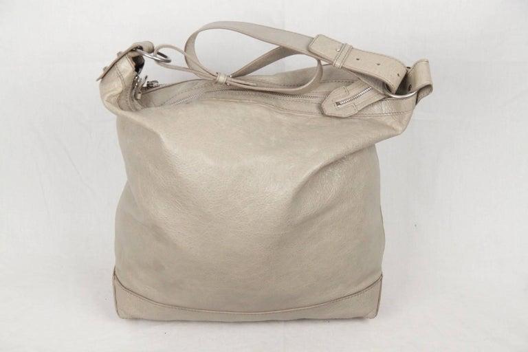 Balenciaga Gray Leather Arena Classic Day Shoulder Bag iZe7eh0Gp