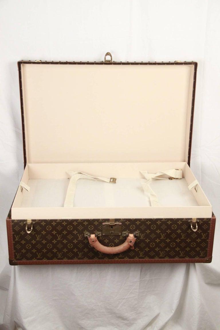 LOUIS VUITTON Vintage Monogram Canvas ALZER 80 Travel Bag TRUNK 5