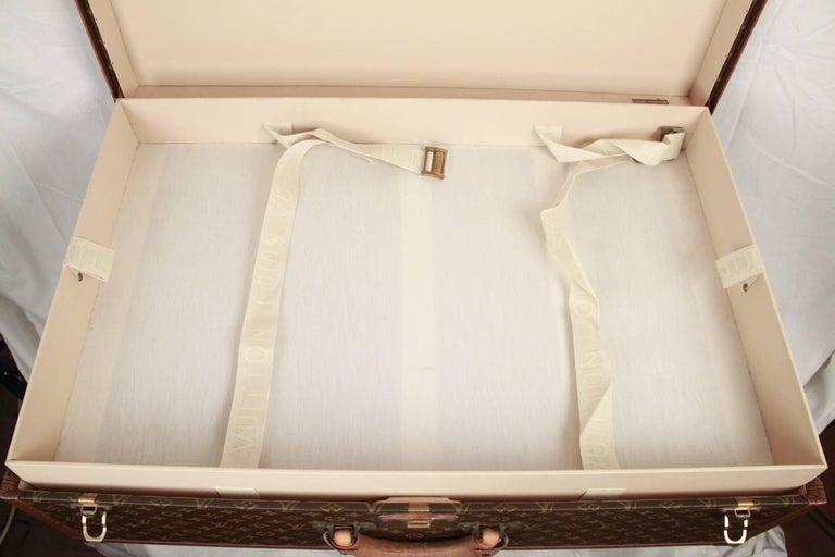 LOUIS VUITTON Vintage Monogram Canvas ALZER 80 Travel Bag TRUNK 6