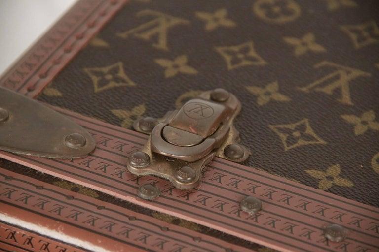 LOUIS VUITTON Vintage Monogram Canvas ALZER 80 Travel Bag TRUNK 4