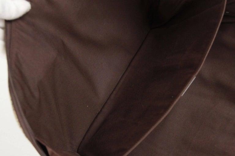 GUCCI Brown GG MONOGRAM Canvas PORTFOLIO Document Holder 5